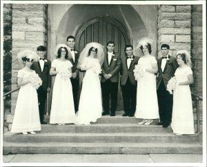 Wedding Photo Scanned - Mom's Photo Service